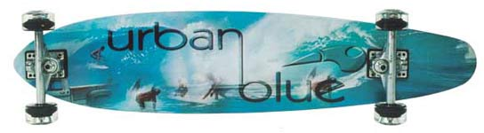 Urban Blue Longboards UB 200 Deck