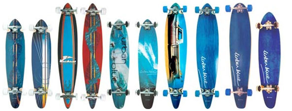 Urban Blue Longboards Range